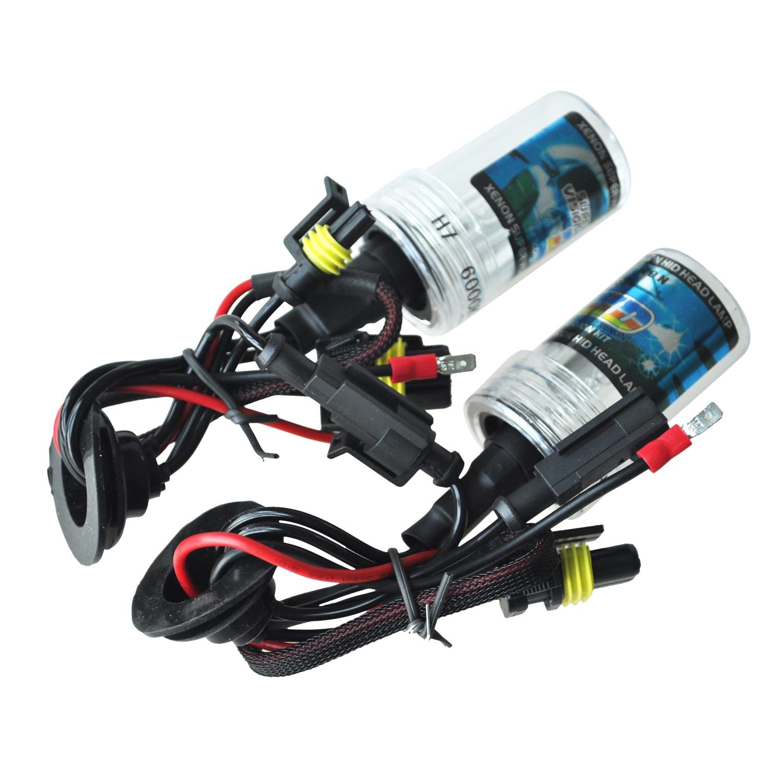 2X 6000K H7 35w HID Replacement Xenon Car Headlight Head Bulbs Light Lamp 12v 2 pieces xenon bulbs car lamp d4r 4300k 42406wx 6000k 12v 35w
