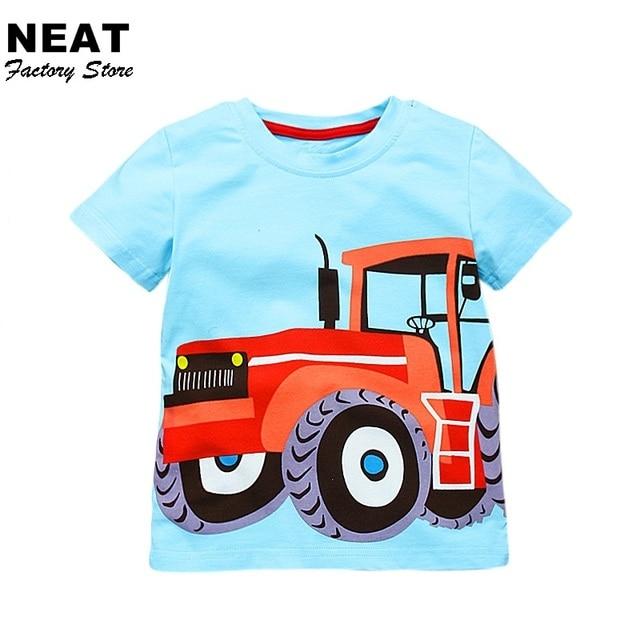 Re T болеет футболка t s для мальчиков NEA t Детская футболка t детские, для малышей автомобиля Одежда для мальчиков синие летние для мальчиков футболка Топы M50787 смешивания