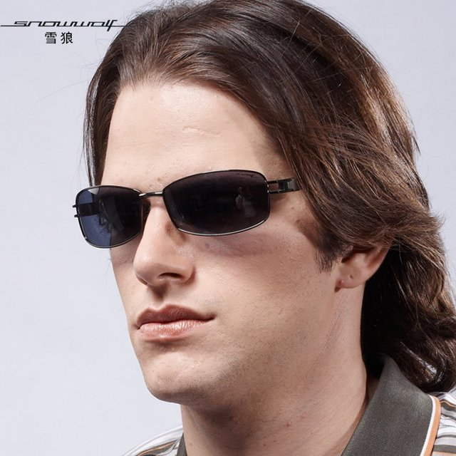 The left bank of glasses polarized sun glasses male driving mirror sunglasses sw401