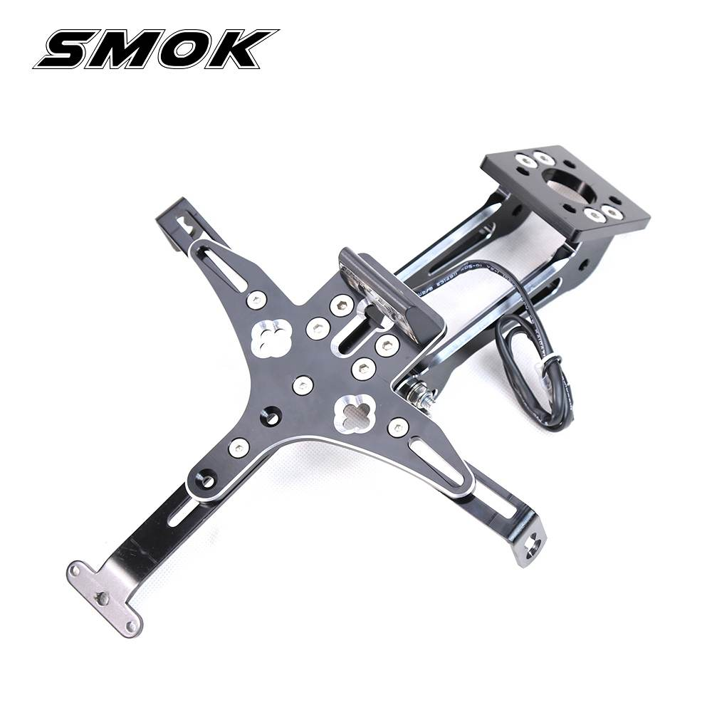 SMOK For YAMAHA MT-07 MT07 MT 07 2014-2017 Motorcycle CNC Aluminum Registration License Plate Holder Bracket With LED Light core shell structure of metal nanoparticles in metal organic framework