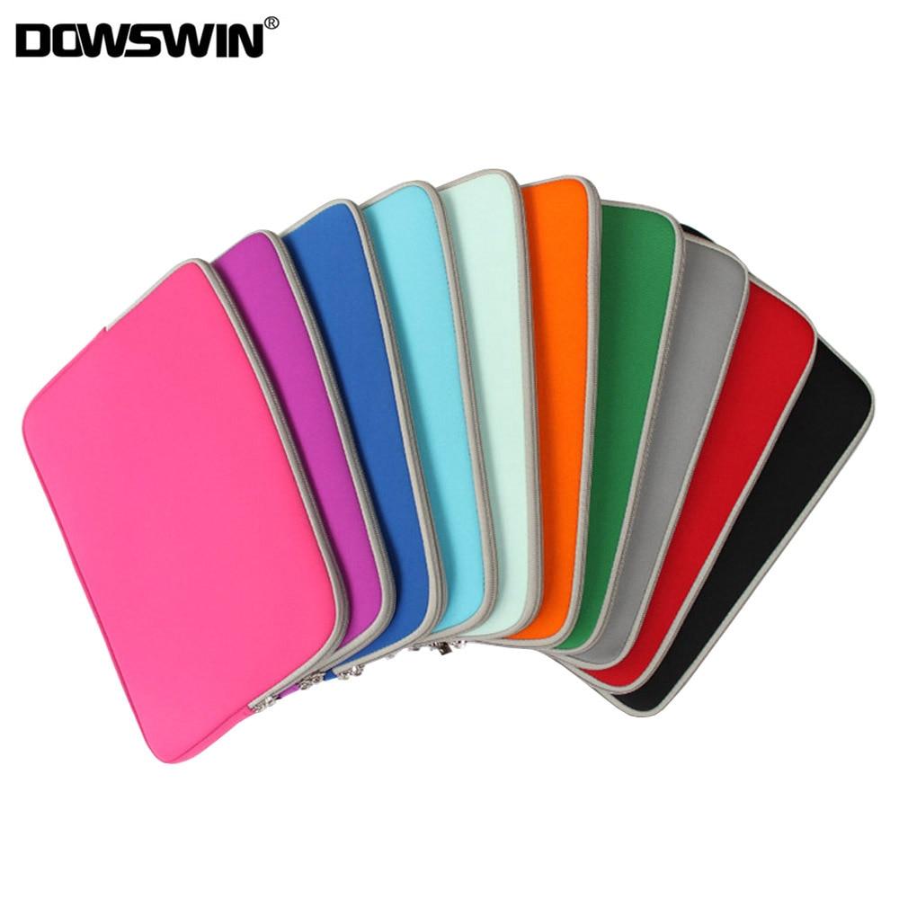 Luva do portátil caso saco para macbook ar pro 13.3 retina caso 9.7 11 12 13 15 polegada zíper macio notebook luva caso para xiaomi hp