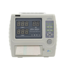 Portable fetal monitor for twins fetus heart rate monitor CTG machine ultrasound prenatal monitor BFM-700E+