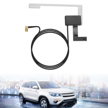Universal SMB connector vehicle active antenna DAB digital cat radio aerial with built in RF amplifier strong stable signal