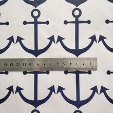 48 pçs minúsculo azul marinho âncoras padrão adesivo para a decoração do portátil do carro caso do telefone da parede