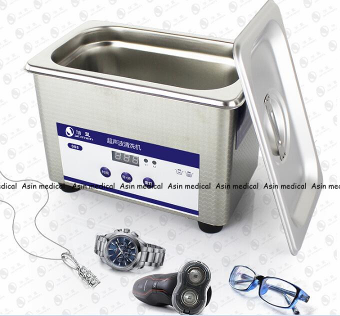 New Arrival Dental Laboratory Equipment 800 mL Digital Ultrasonic Jewelry Clean Bathroom Glass Cleaning Equipment