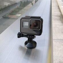 עבור Gopro מגנטי מתכת מתאם חצובה Stand הר עבור Gopro גיבור 8 7 6 5 4 Yi 4k Sjcam DJI אוסמו פעולה מצלמה אביזרי סט