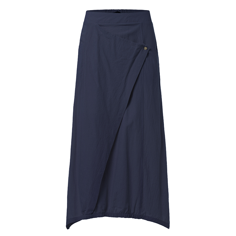 Celmia Vintage Women Maxi Skirts 19 Summer Casual Loose High Waist Asymmetrical Linen Skirt Plus Size Long Pleated Beach Skirt 10