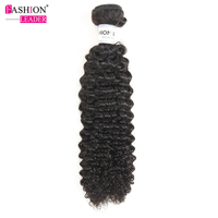Fashion Learder PeruvianKinky Curly Hair Weave Bundles 100 Human Hair Weaving Natural Color Remy Hair Bundles