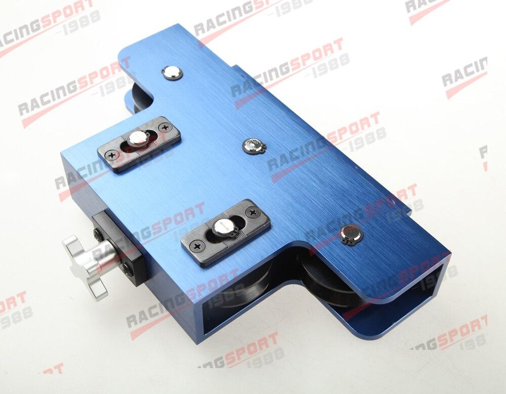 Metal Coiled Brake & Fuel Line Tubing Tube Straight Straightener Aluminum Blue TUBST-01