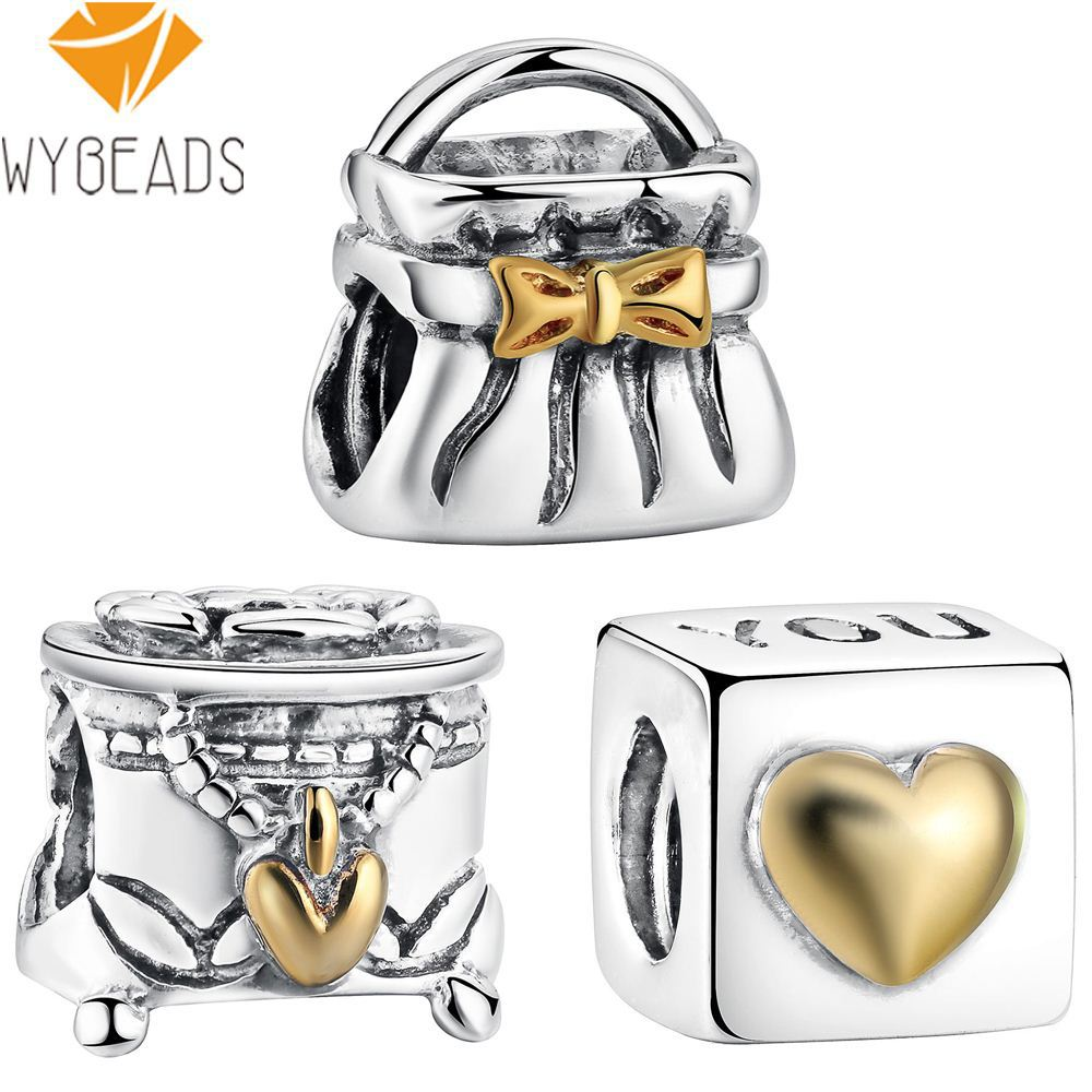 Special Family Heart European Charm Bead For Bracelet And Necklace Chains