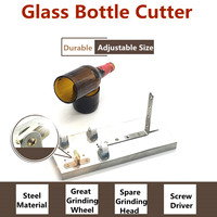 Glass Beer Wine Bottle Cutter Cutting Machine Jar DIY Kit Craft Recycle Tool