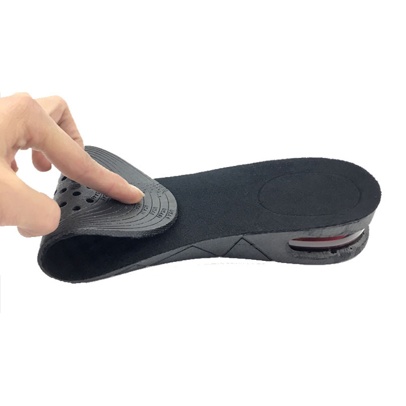 2017 Hot Selling Shoe Insole Air Cushion Heel Insert Invisible Increase Taller Height Lift Shoe Insole For Women Lady 88 WH998