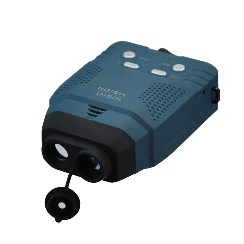 Night Vision Monocular, Blue-infrared Illuminator Allows Viewing in the Dark-records Images and Video