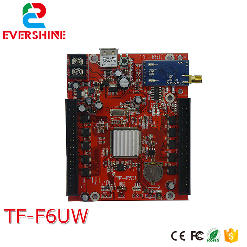 все цены на TF-F6UW(TF-F5UW) Longgreat TF WIFI USB port LED Display Control Card Single Dual Color 2 groups of 50pin output онлайн