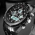 Readeel Top Marka Sport Quartz Wrist Watch Mężczyźni Wojskowy Wodoodporny Zegarki LED Cyfrowe Zegarki Męskie Zegarek Kwarcowy Zegar Mężczyzna