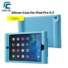 Chinfai Caso para iPad Pro 9.7 Cubierta A Prueba de Golpes de Silicona para iPad Pro Niños Función para el ipad Caja de la Tableta con la Radiación de Seguro Pro
