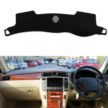 цена на Car Dashboard Cover Dashmat Mat Pad Anti-UV Sun Shade Instrument Protective Carpet For Toyota Crown s180 2004 - 2009 Accessories