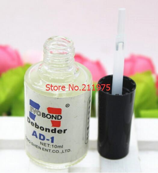 a39558611c6 High Quality Pro 10ml Individual False Eyelash Adhesive Glue Remover Liquid  Debonder Nail Glue Remover Hot Sale