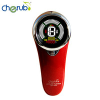 Cherub DT 20 New Infrared Drum Tuner USB Rechargeable Color LCD Display Mic Mode Red Tuner