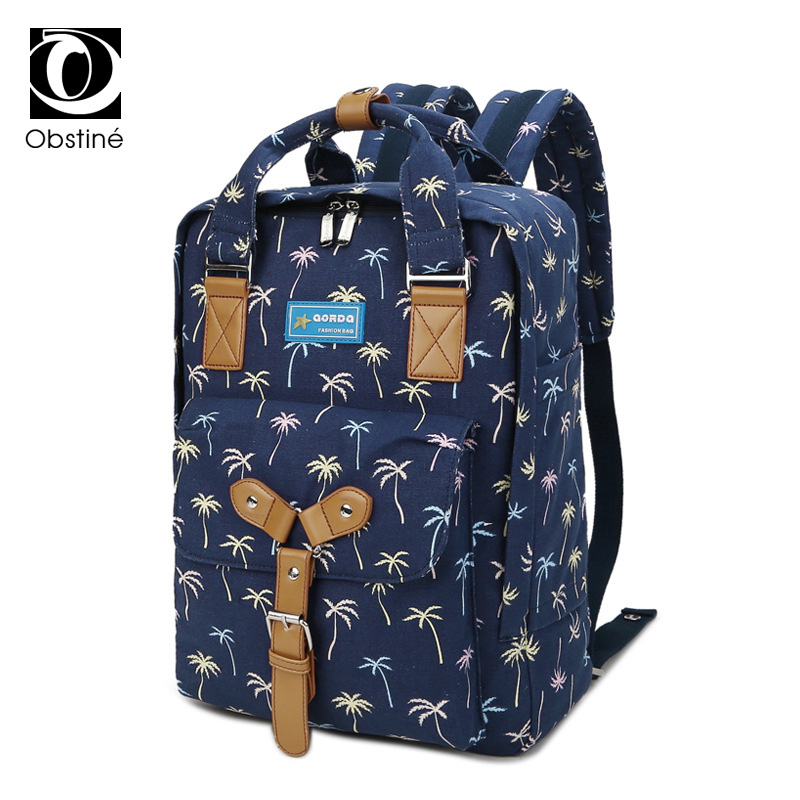 Female Canvas Backpack for School Teenagers Bagpack Women Backpacks for Men Bookbag Woman Back Pack for Laptop Computer Bag Pack day and night embroidery lovers backpacks canvas men women school bag for teenagers student book bags casual sport back pack