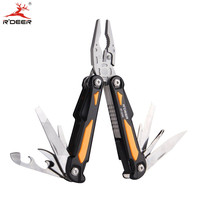 RDEER Multifunction Cutting Pliers Multitool DIY Outdoor Stainless Steel Folding With Knife Screwdriver Hand Tools