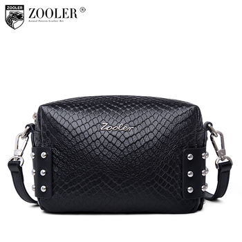 limited ZOOLER genuine leather small bags for women 2019 luxury&hot shoulder bag lady women messenger bag bolsa feminina#R153