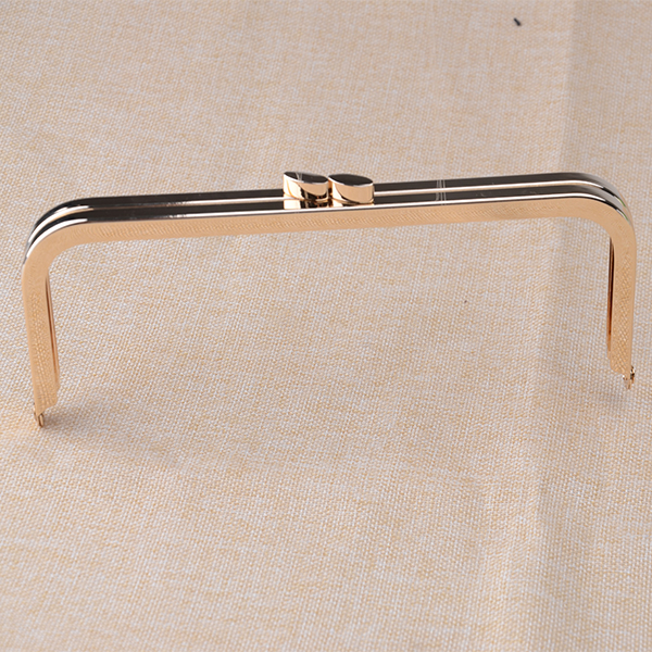 8 x 3 inches( 20 x 8 cm) - Large Gold Clutch Purse Frame