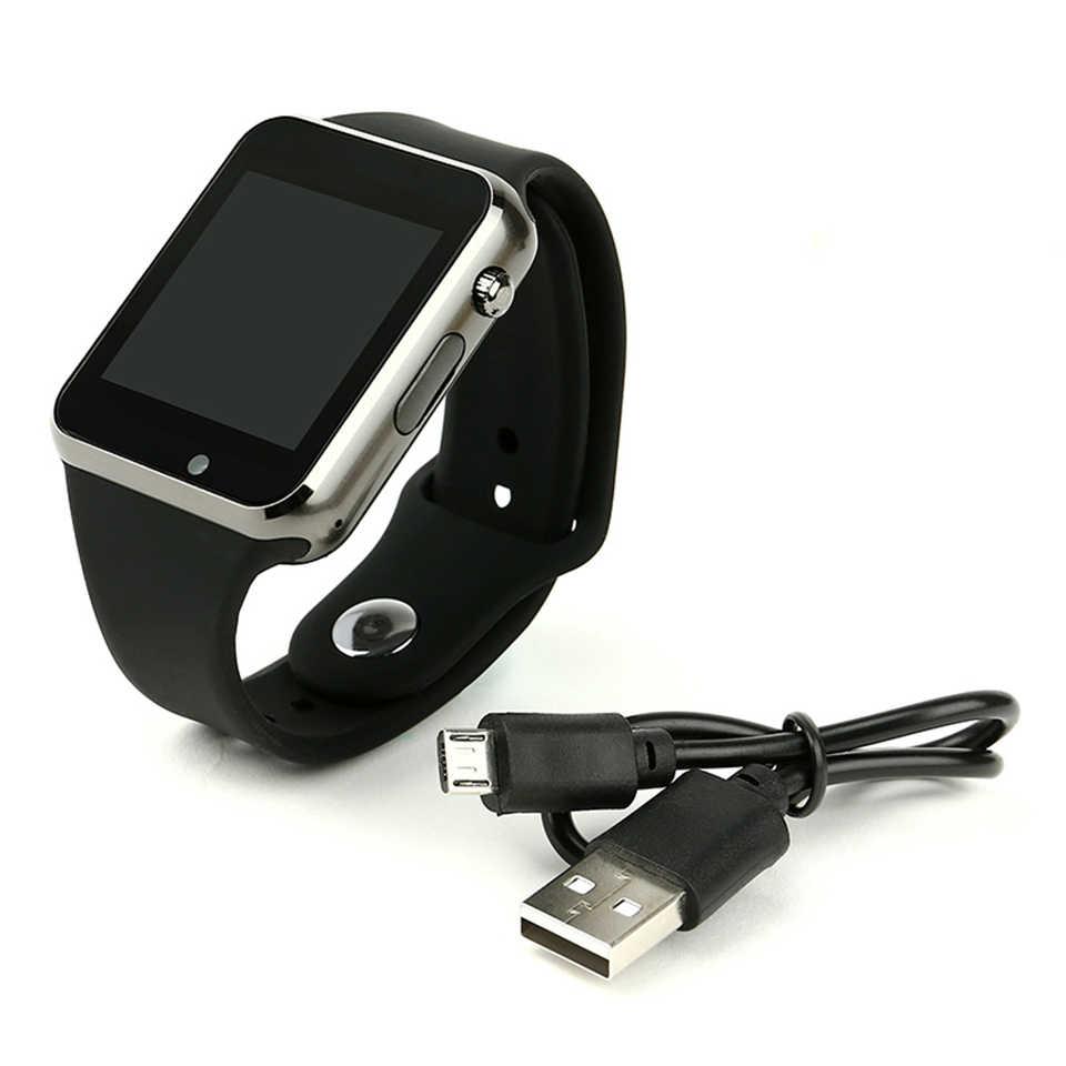 Смарт-часы A1 для телефонов Android с поддержкой sim-карты TF, Смарт-часы a1 для получения информации, фотографии, шагомер, экономичный подарок