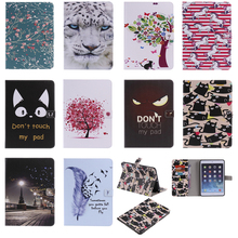 Luxury Horse Print Leather Magnetic Flip Wallet Tablet Case Cover Coque Shell Skins Funda Stand For iPad mini 1/2/3 7.9