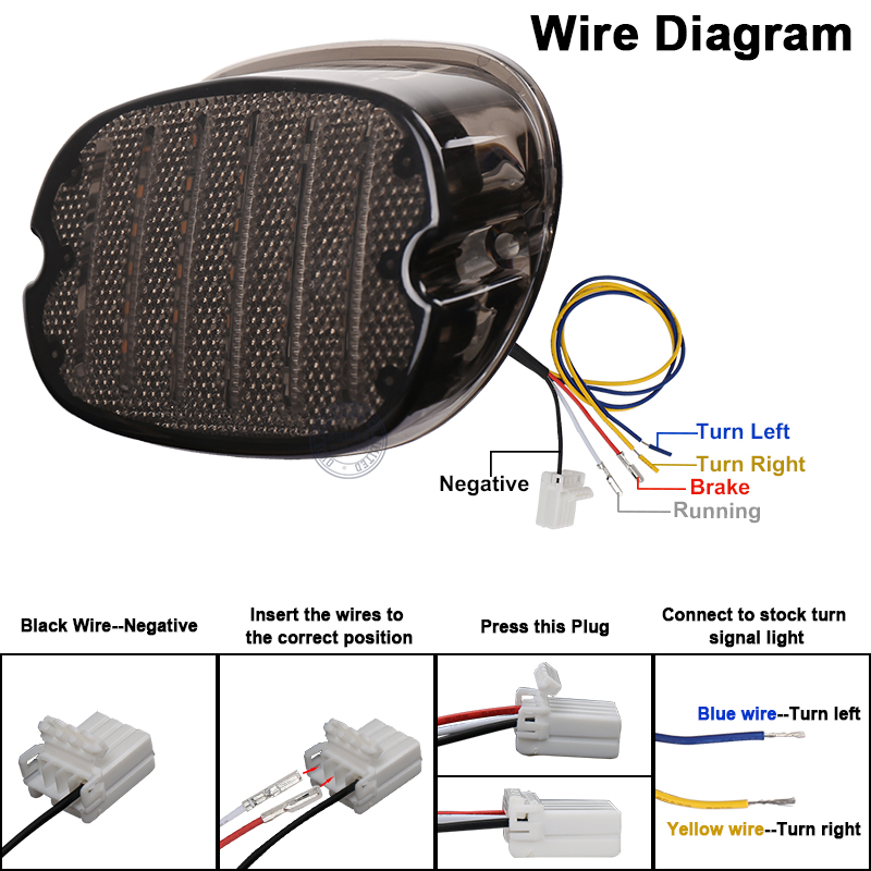 Wiring Diagram 2011 Fatboy Motorcycle Tombstone Tailight from ae01.alicdn.com