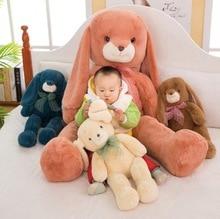 WYZHY New creative cute soft cute rice rabbit doll plush toy plush toy sofa bedroom decoration send friends children gifts 80CM huge black plush orangutans toy big fat creative orangutans doll about 80cm