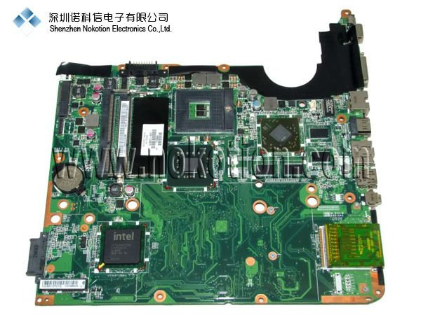 NOKOTION 578377-001 Laptop motherboard For Hp Pavilion DV6 DV6-1000 Main board PM45 DDR3 with Graphics Card Free CPU 705188 001 laptop motherboard for hp pavilion dv6 dv6 6000 main board hd3000 ati radeon 7690m 2gb graphics
