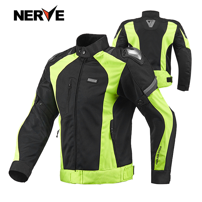 8cacad30263 Brand NERVE Sping Summer Motorcycle Riding Breathable Mesh Suit MOTO  Protective Coat Jacket Pants Men   Women Motocross Clothing