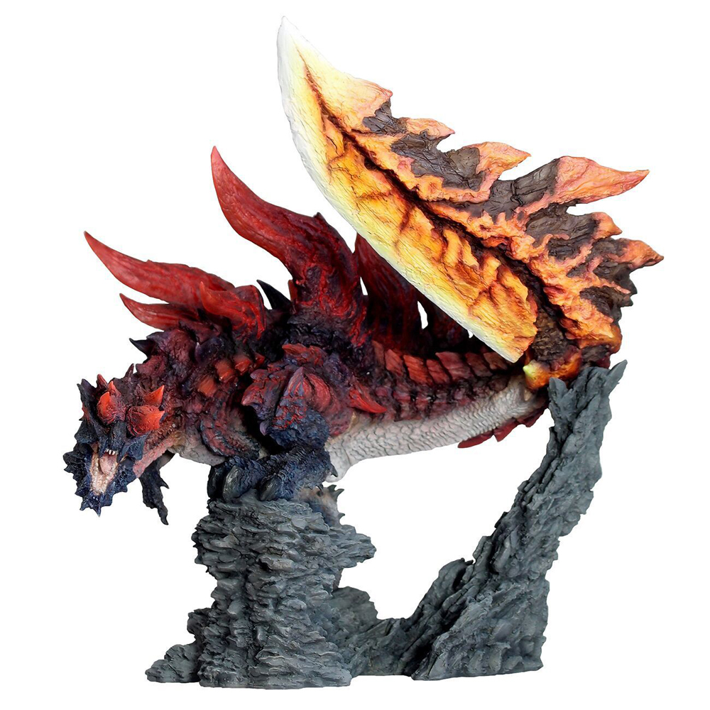 Monster Hunter World Handmade Original Genuine CFB Monster Hunter X Dragon Different Colors Collection Decoration Gifts цена и фото