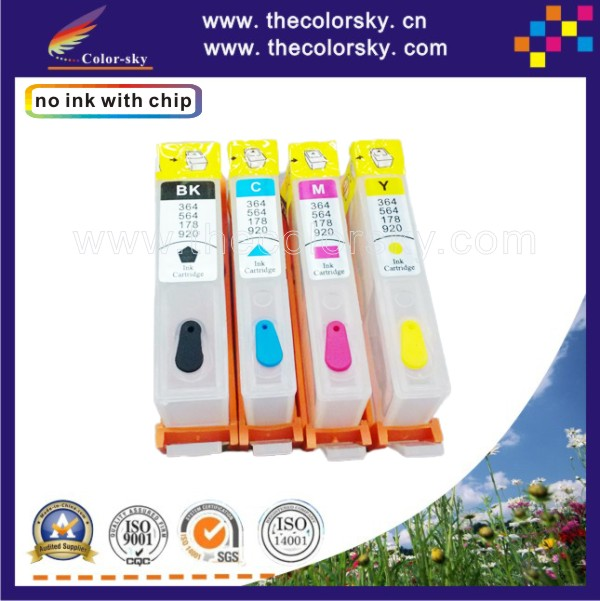 (rch920-1) Refillable Ink Cartridge For HP 920 920XL HP920 B209 B209A B 209a Officejet 6000 6500 6500A 7000 7500 7500A With ARC
