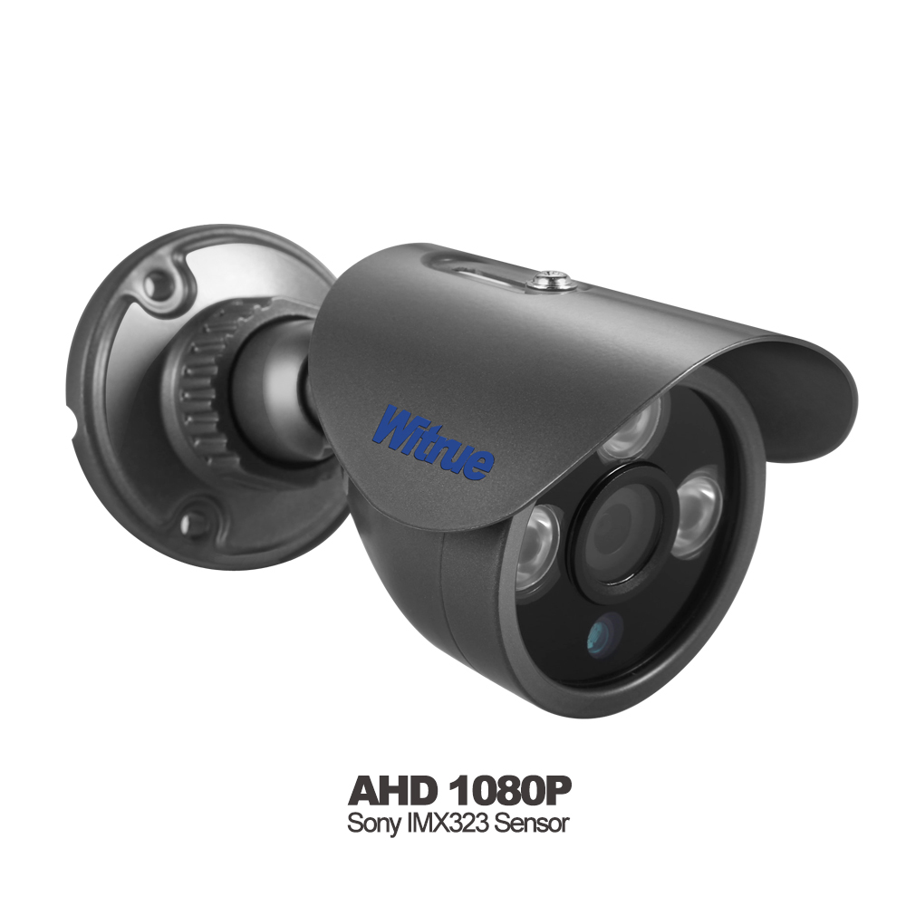 Witrue Mini AHD Camera 1080P Sony IMX323 Video Surveillance Camera IR Night Vision 30M Metal Case