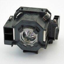 Lámpara del proyector elplp42/v13h010l42 para epson h281b, H330B, H330C, H307B, EB-410We con Japón phoenix original quemador de la lámpara