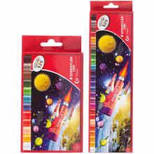 Staedtler 12/25 цветные масляные палочки Детский рисунок мягкий карандаш Гладкий Водонепроницаемый