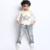 2016 outono nova Coreano calças de brim menino barba jeans stretch de algodão denim calças plus size venda quente