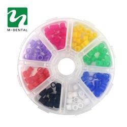 160 шт./кор. Multi-Цвет зубные силиконовые инструмент Цвет товара Кольца
