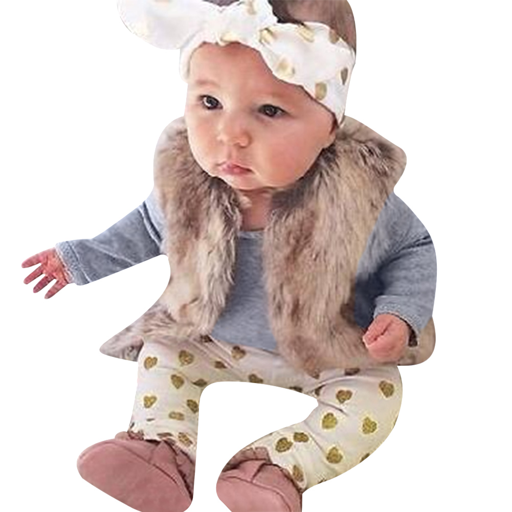 3pcs/set Newborn Bodysuit Clothing Set Autumn Baby Boys Girls Long Sleeve Bodysuit+Dot Print Pants+Bowknot Headband Outfits Set