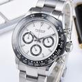 Parnis 39mm Quartz Horloge Mannen Chronograph Top Merk Luxe Pilot Business Waterdicht Sapphire Crystal Horloge mannen
