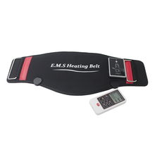 BYRIVER EMS Electric Heating Pulse Slimming Belt Waist Belly Massager