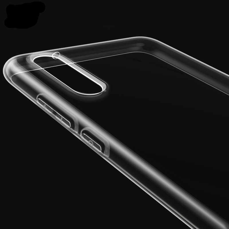 Para Huawei P Smart 2019 Coque de cubierta transparente para Huawei Y5 Y6 primer 2018 P10 P20 Lite P8 P9 Lite 2017