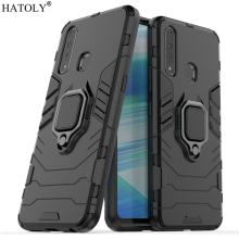 Vivo Z5x Case Cover for Vivo Z5x Magnetic Finger Ring Phone Case Bumper Shell Protective Hard PC Armor Case For Vivo Z5x V1911A vivo y91 case cover for vivo y91 magnetic finger ring phone case shell bumper protective hard pc armor case for vivo y91 y95