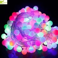 Kingoffer 30M 300 LED Ball Fairy String Light Lamp Garlands For Christmas Tree Holiday Wedding Garden Outdoor Indoor Decoration