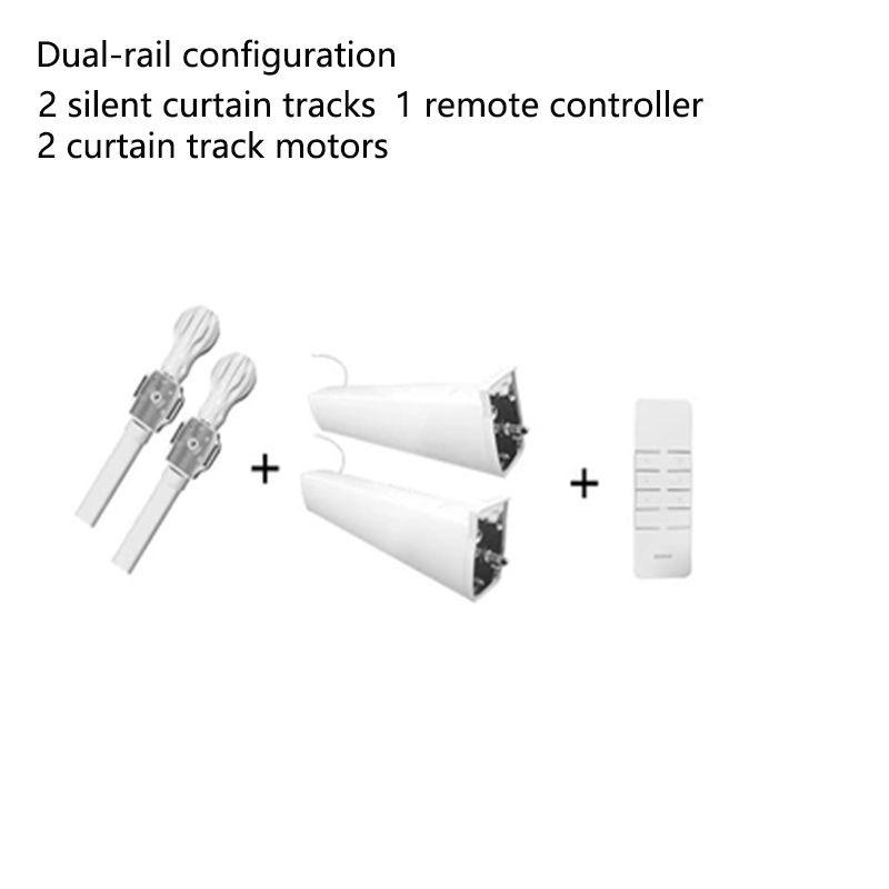 DOyaElectric Curtain Electric Roman Rod Motor Remote Control Automatic Intelligent Track In