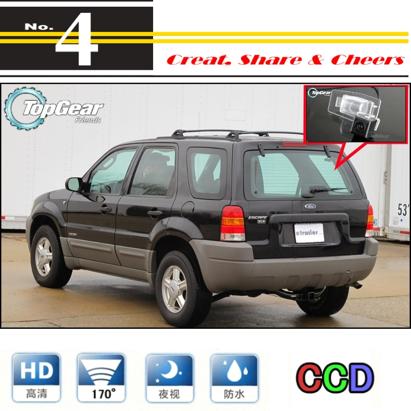 Car Camera For Ford Escape Maverick Mariner 2001~2006 High Reverse Rear View Back Up Camera For PAL / NTSC | CCD With RCA