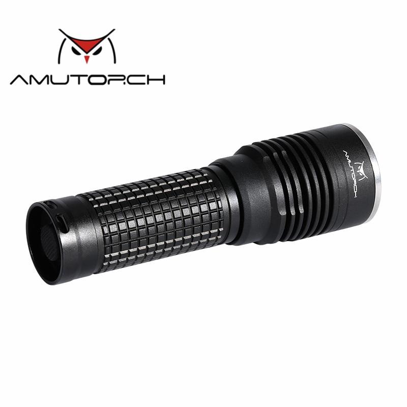 купить Amutorch X8 Newest CREE XM-L2 U4 12w 1200 lumens portable tactical LED Flashlight 1*26650flashlight онлайн