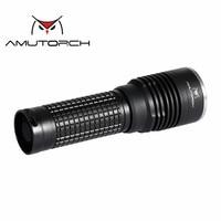 Amutorch X8 Newest CREE XM L2 U4 12w 1200 lumens portable tactical LED Flashlight 1*26650flashlight